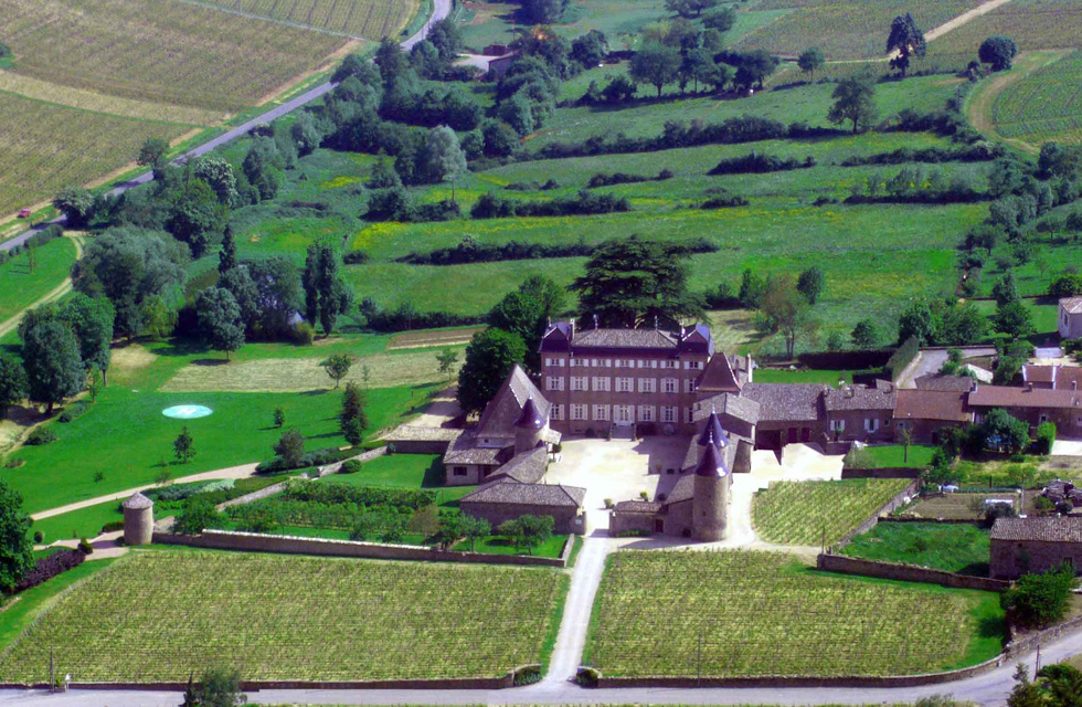 Château de Chasselas partenaire traiteur Olivier Malingréau